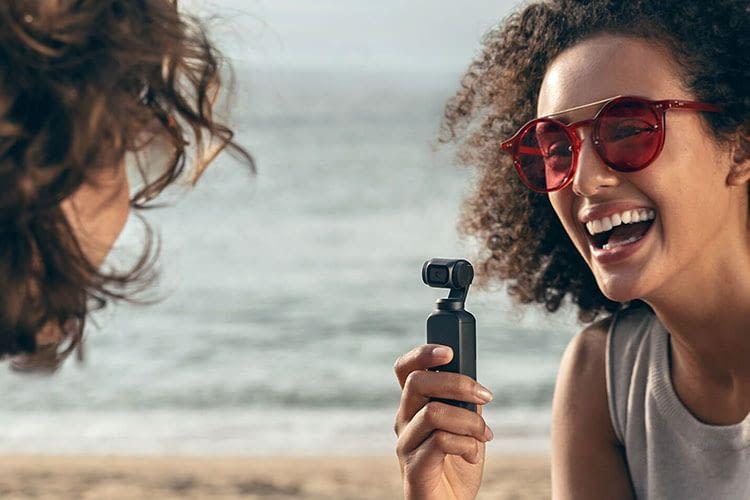 DJI Osmo Pocket - der Mini-Gimbal mit eingebauter 4K-Kamera passt in die Hosentasche