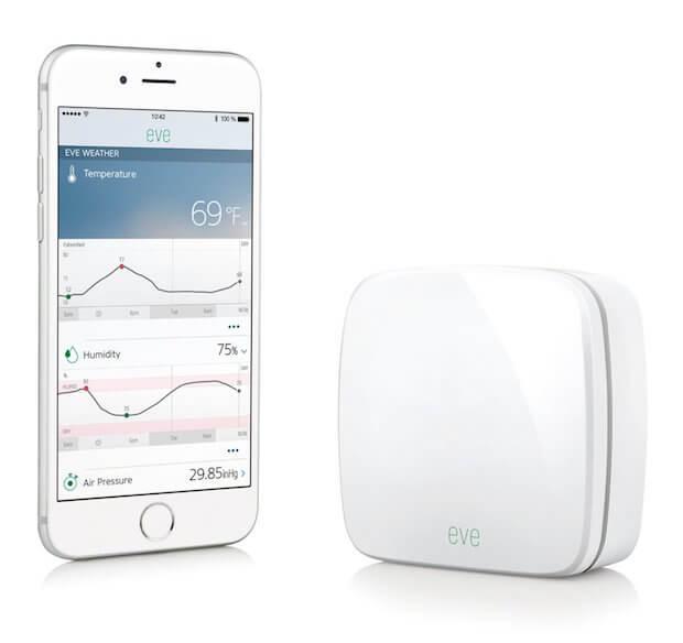 Elgato Eve Weather Außensensor und daszugehörige iPhone / iOS App
