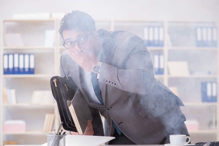 Sobald starker Rauch auftritt, bleiben nur wenige Minuten zur Flucht