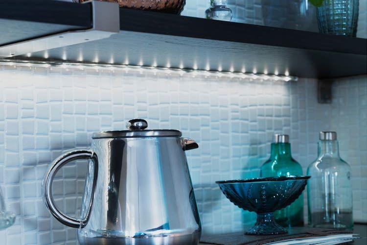 Mit einem IKEA-Transformator lässt sich zum Beispiel die Küche smart beleuchten