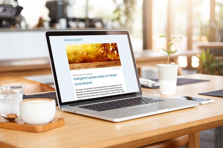 home&smart Newsletter - Die aktuellsten Trends im Bereich Smart Home und IoT
