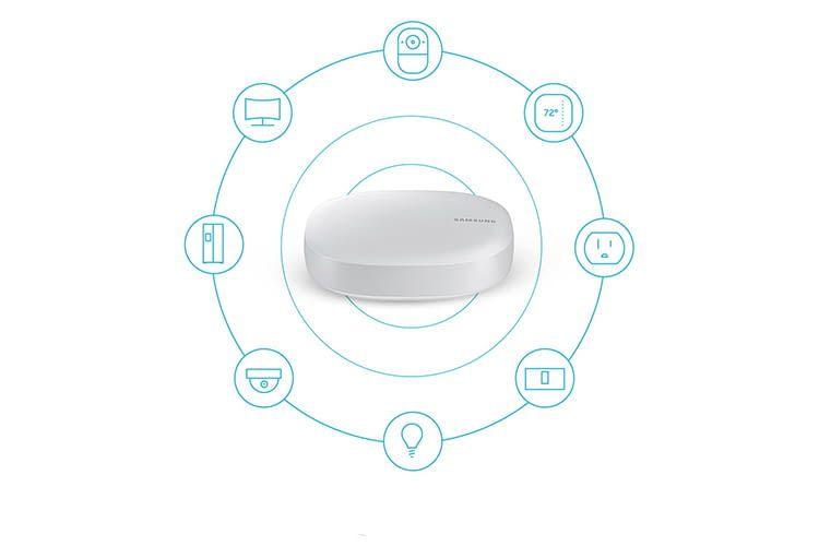 Im Samsung Connect Home WLAN-Router sind Internet und Smart Home vereint