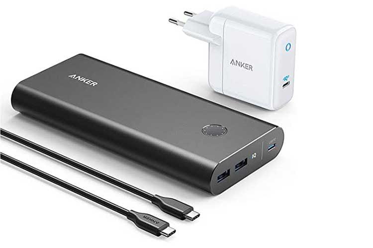 Stark und schnell mit USB-C Power Delivery Schnittstelle: die Anker PowerCore+ mit 26.800 mAh Kapazität
