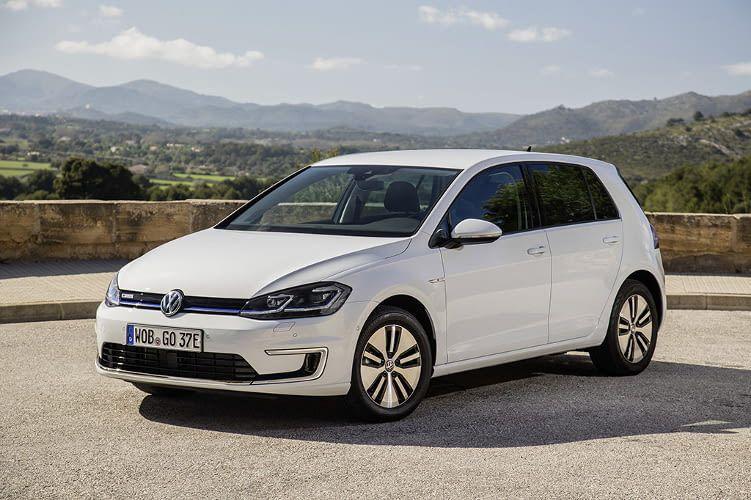 Der VW e-Golf bietet eine Höchstgeschwindigkeit von 150 km/h