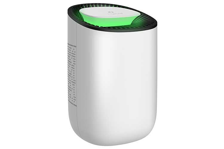 Für kleine Räume eignet sich der HYSURE Luftentfeuchter gut