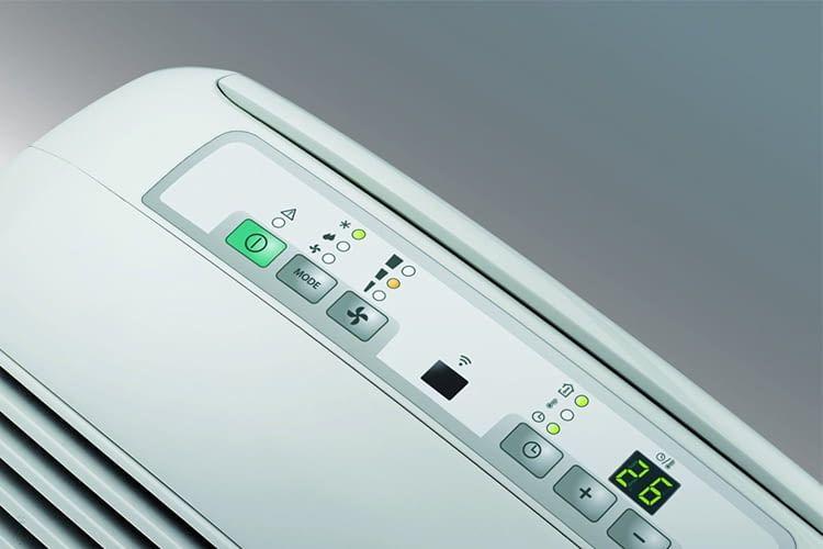 Das Display ermöglicht eine schnelle Anpassung der gewünschten Temperaturwerte