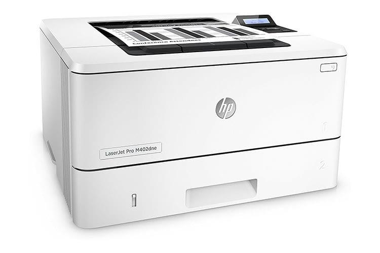 Der Mono-Laserdrucker HP LaserJet Pro M402dne eignet sich als Team- oder Abteilungsdrucker