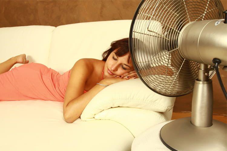 Mit dem richtigen Ventilator sind auch schwül-heiße Nächte kein Problem