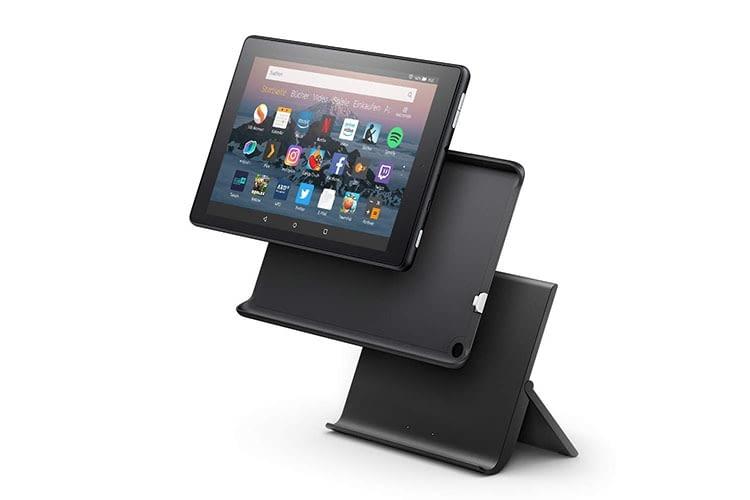 """Das Amazon Tablet Fire HD 8 wird mit Show-Modus-Ladedock zum """"Echo Show Light"""""""