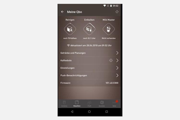 Die Qbo Android-App erhielt im App-Store 4,2 von 5 Sternen (Stand: 10 / 2018)