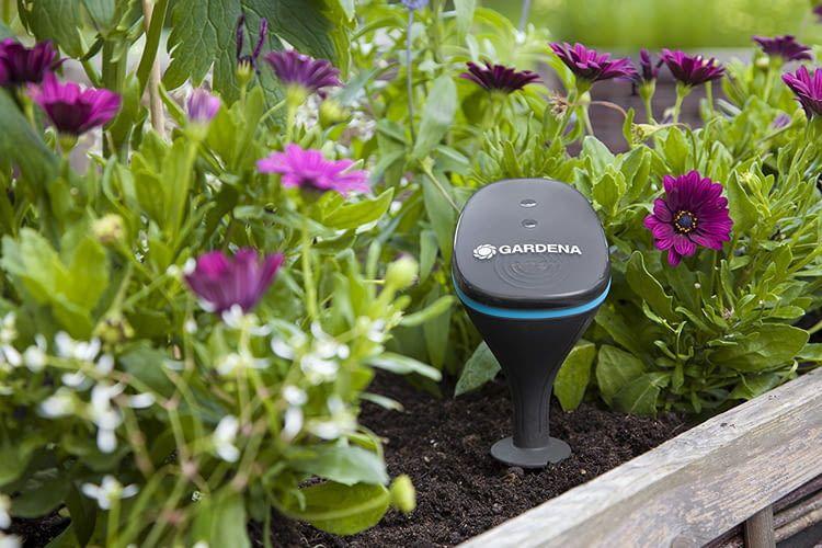 Einmal installiert prüft der Bodensensor automatisch die Beschaffenheit seiner Umgebung