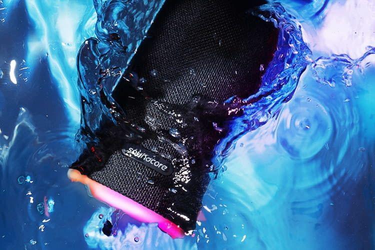 Wasserdichter Bluetooth-Lautsprecher? Flare entspricht Schutzklasse IPX7