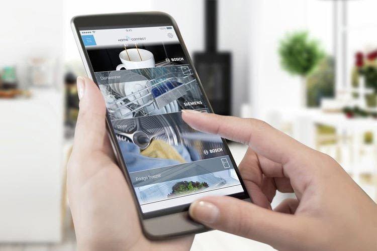 Bei Bosch lassen sich immer mehr Haushaltshelfer per App verwalten