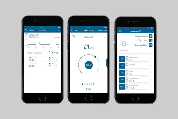 Per App fällt die Fernsteuerung der Heizung kinderleicht