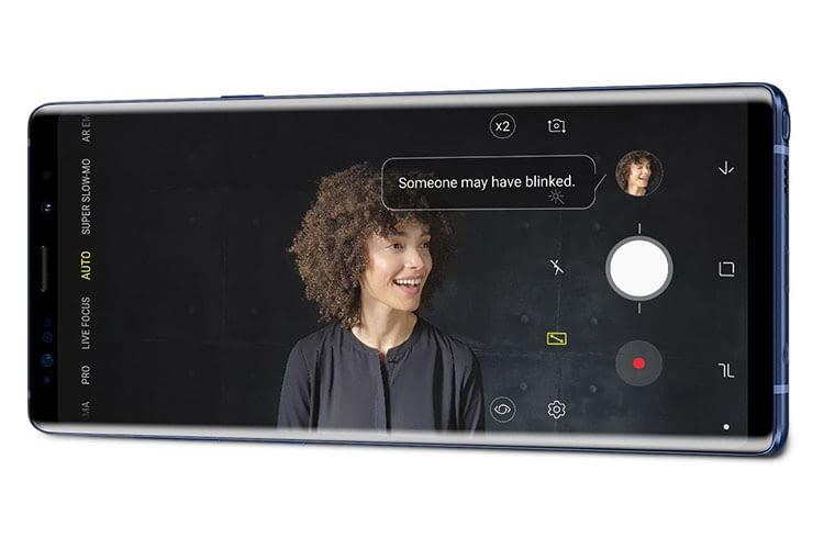 Samsung Galaxy Note9 weist auf Mängel im Bildaufnahmen hin