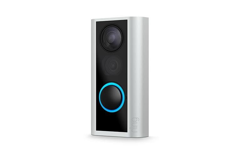 Die Türklingel Ring Door View Bell arbeitet mit wiederaufladbaren Batterien