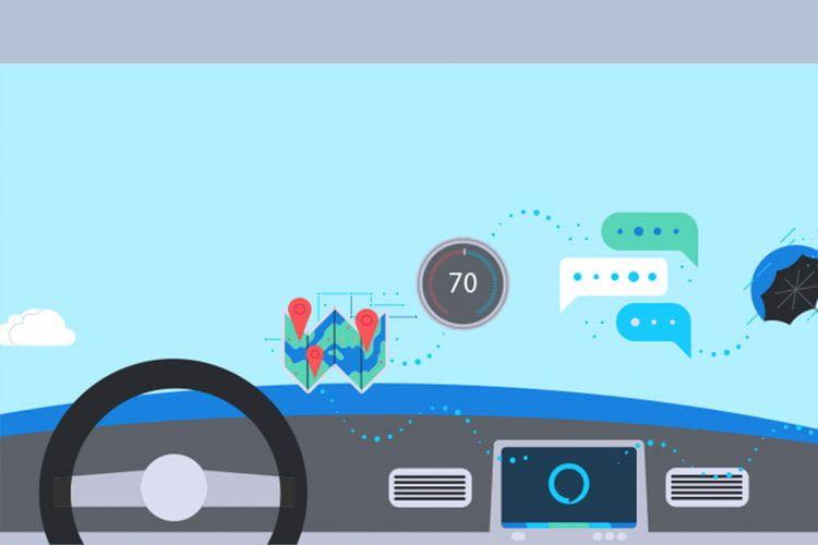 Alexa kann das Auto fahren bequemer und sicherer machen