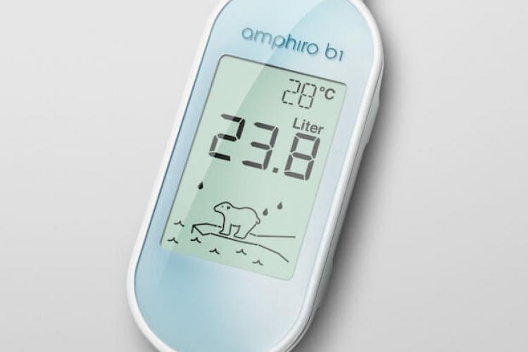 Der Verbrauchsmesser amphiro b1 connect soll zu mehr Umweltbewusstsein beitragen