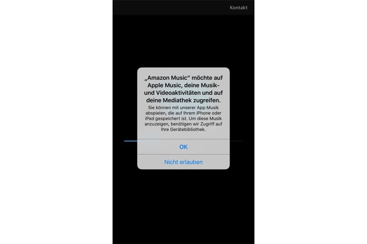 Amazon Music Unlimited importiert auch die Apple Music Files