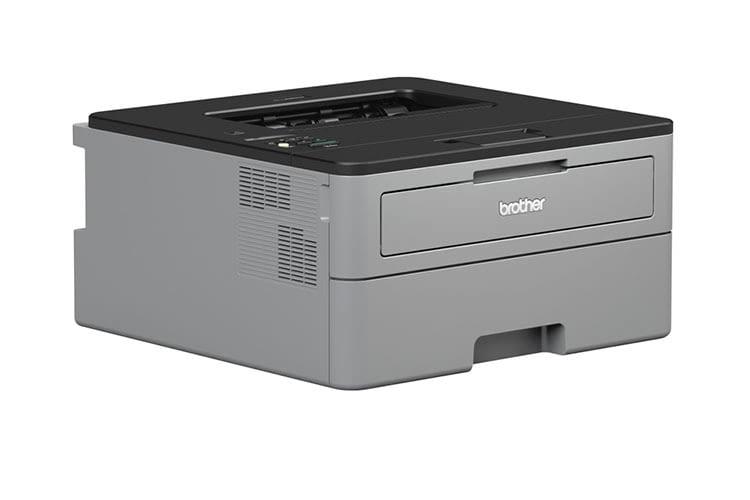 Der Schwarz-Weiß-Laserdrucker Brother HL L2350DW ist ein guter Business-Einsteigerdrucker