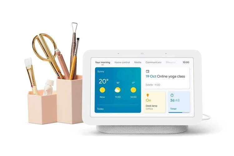Google Nest Hub 2 soll seine Nutzer in jeder Lebenslage unterstützen