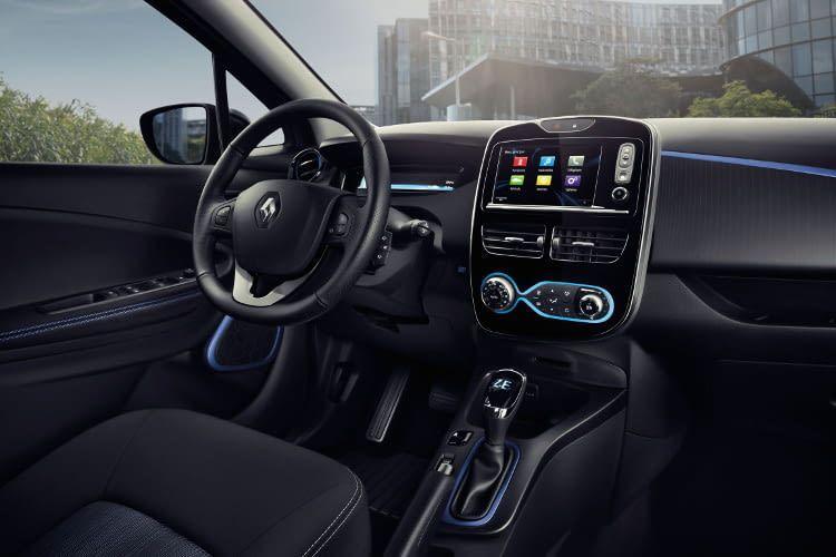 Renault ZOE - nicht das schnellste E-Auto, seine Reichweite macht das aber wieder wett