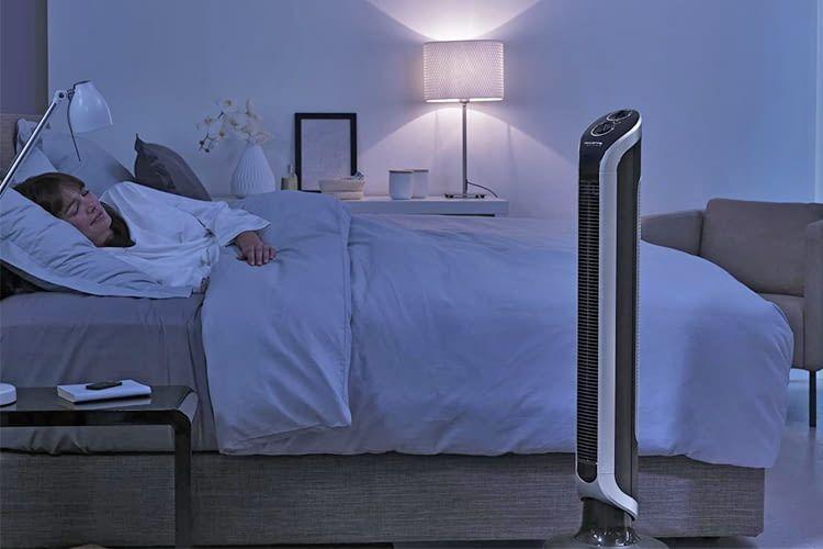 Fürs Schlafzimmer gibt es extraleise Modelle