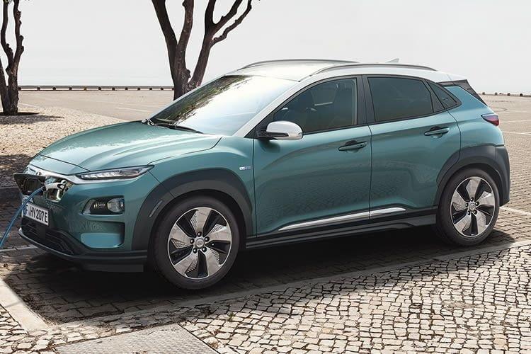 Das zweite Elektroauto von Hyundai bekommt Platz 4 im Reichweiten Vergleich: der Kona Elektro