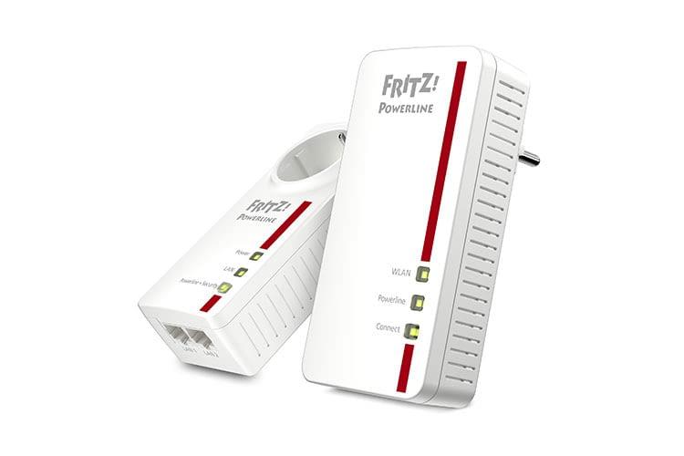 AVM FRITZ!Powerline 1260E Set: gute Geschwindigkeit, aber das WLAN-Powerline-Gerät hat nur 1 Gigabit-Anschluss und keine Steckdose