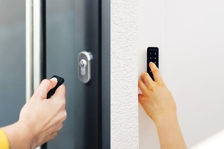 Nuki Smart Lock 2.0 lässt sich per Smartphone, Fob oder Keypad bedienen