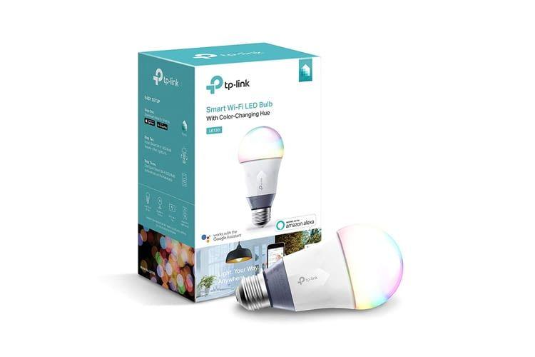 Bis zu 800 Lumen sind mit einer TP-Link LB130 WLAN-Lampe möglich