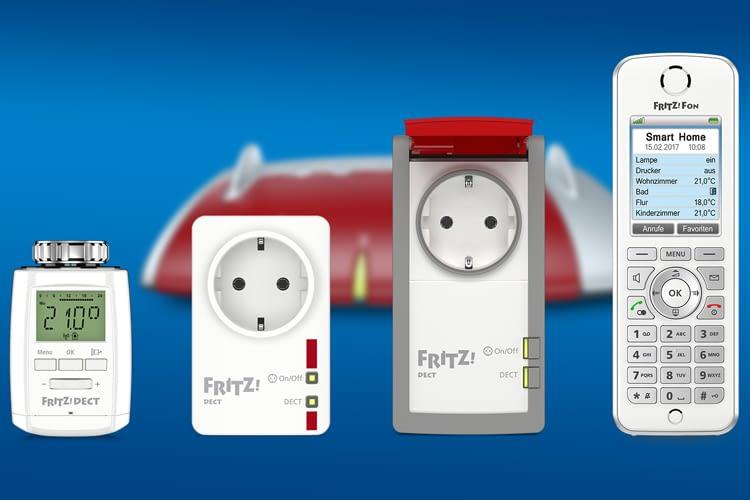 AVM hat zusätzlich zur FRITZ!Box smarte Komponenten wie Zwischenstecker und Heizthermostat entwickelt