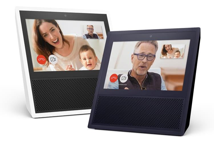 Der Amazon Echo Show kann auch Live-Videos auf seinem Display einblenden