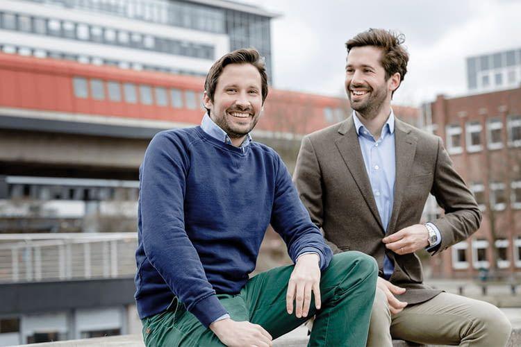 Die beiden Gründer von Wechselpilot: Jan Rabe (links) und Maximilian Both