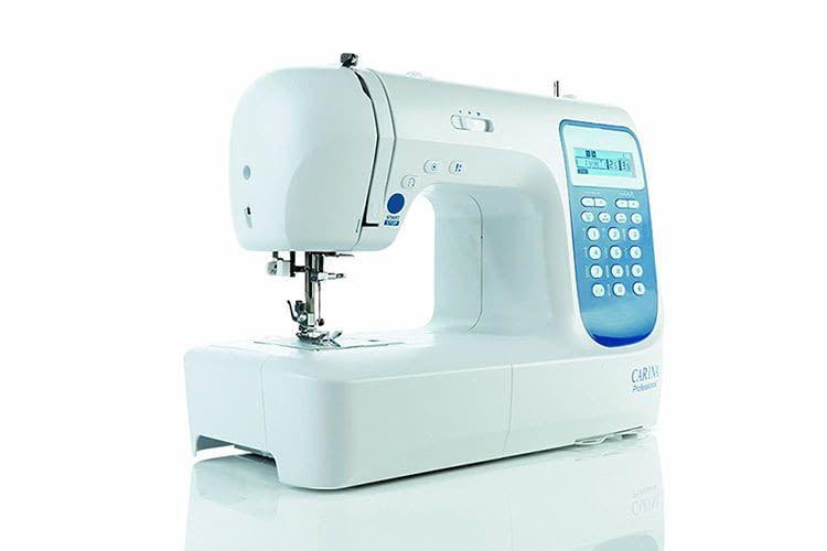 Die Computer-Nähmaschine Carina Professional bietet eine Auswahl von über 200 Stichen