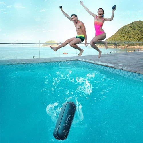Wasserfest und damit super für Pool Partys geeignet: Bluetooth-Lautsprecher XSound Go