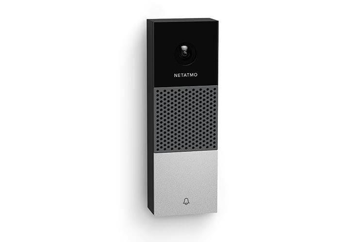 Intelligente Videotürklingel von Netatmo verfügt über Full-HD-Auflösung