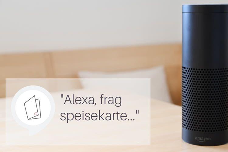 Einfach Amazon Alexa fragen, wo die kulinarische Reise hingeht