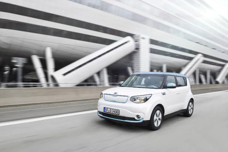 Das Elektroauto Kia Soul EV ist ein dynamiker in jeder Lebenslage.