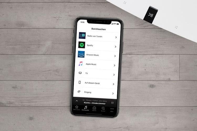 Gesteuert wird Sonos One via App oder Alexa Sprachsteuerung