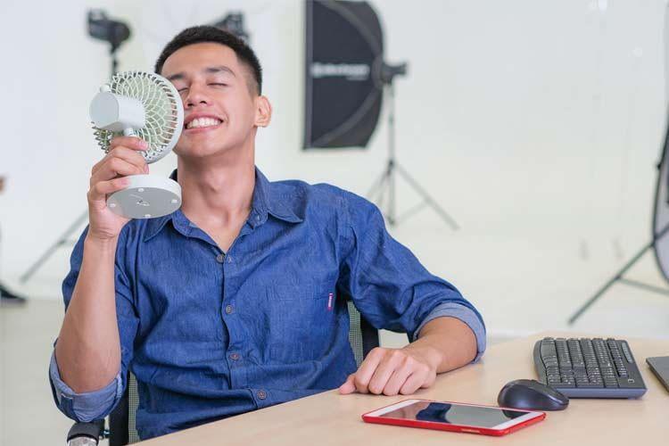 Mini-Ventilatoren sind meist sehr günstig, aber auch nicht besonders leistungsstark