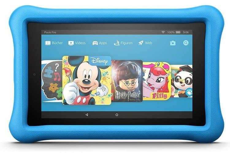 Perfekt abgestimmt: Fire Kids Edition Tablet mit FreeTime Nutzeroberfläche für Kinder