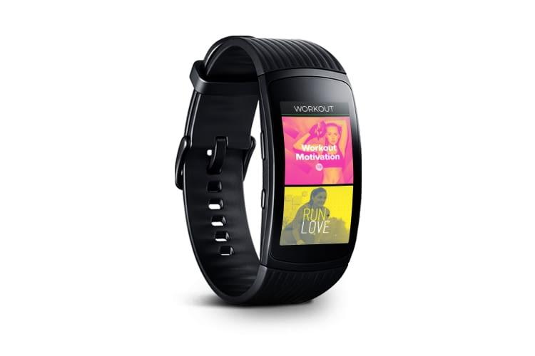 Spotify-Songs können mit Samsung Gear Fit2 Pro auch offline angehört werden