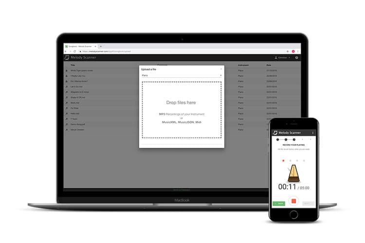 Melody Scanner ist als kostenlose Probe- oder kostenpflichtige Premium-Version erhältlich