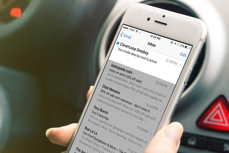 Mit dieser CleverLoop Smokey App ist kostenlos verfügbar