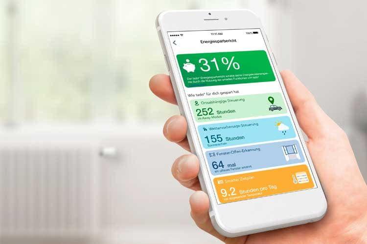 Der Smart Climate Assistant bringt praktische Funktionen für die tado°-App