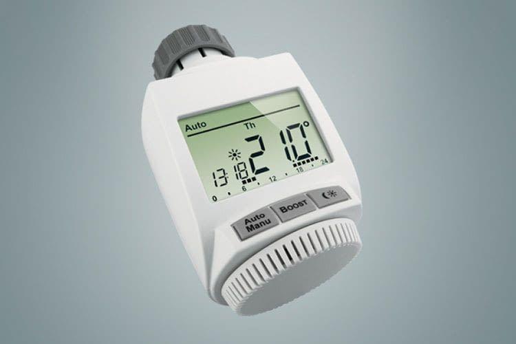 Das MAX! Heizkörperthermostat+ ermöglicht es, wichtige Daten im Display abzulesen