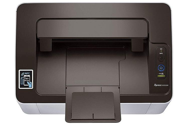 Samsung Xpress SL M2026w verarbeitet Papiersorten mit einem Gewicht von bis zu 163 g/m2