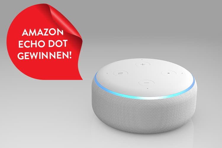 Amazon Echo Dot gewinnen