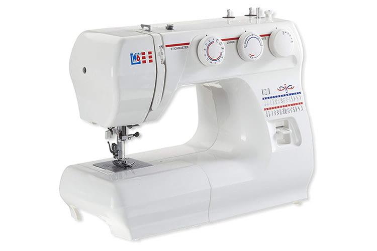 Die W6 Nähmaschine N 1235/61 ist eine robuste Freiarm-Nutzstich-Nähmaschine für ambitionierte Hobby-Näher